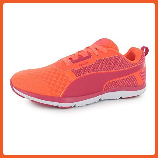 b82093b5750 Puma Pulse Flex XT EverFit Running Shoes Womens Peach Red Run Trainers  Sneakers (UK8) (EU42) (US10.5) - Athletic shoes for …