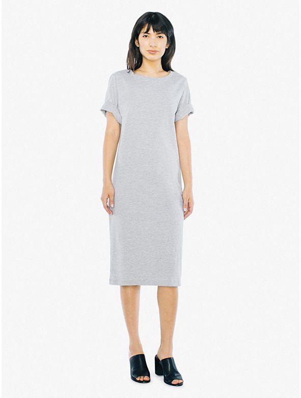 4caafab10e8 Fine Jersey T-Shirt Midi Dress