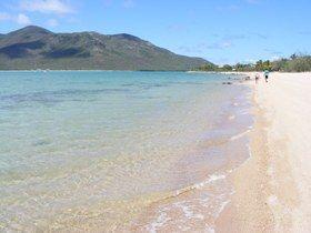 Hydeaway Bay has over 1.5 kilometres of soft, sandy beach QLD