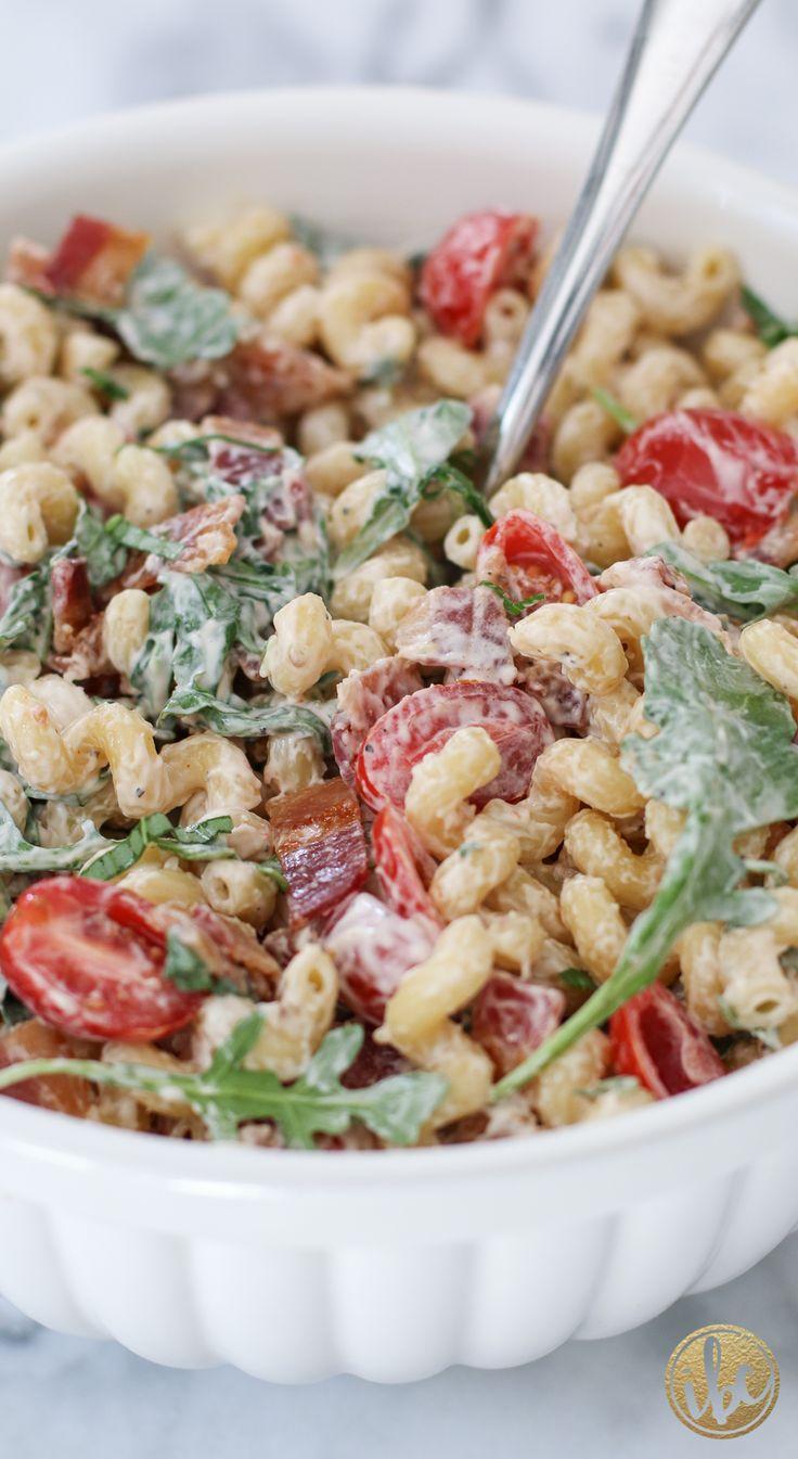 As Simple as B, L, T: Macaroni Salad Recipe