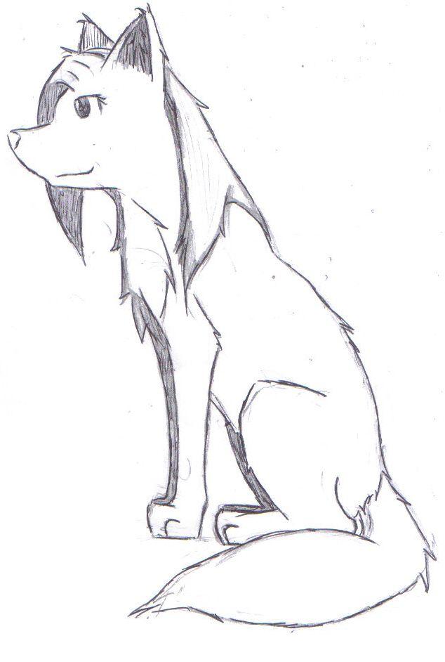 Les 25 meilleures id es de la cat gorie dessin de loup - Dessiner un loup facilement maternelle ...
