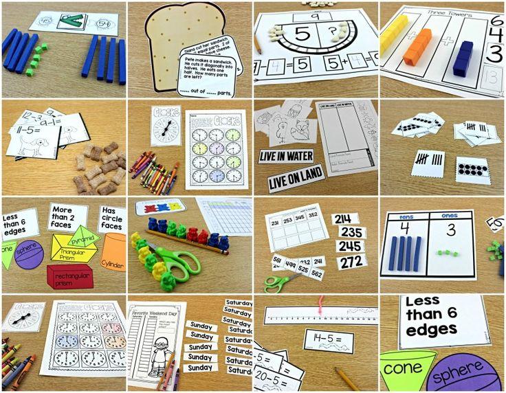 guided math, math lessons, math first grade, math kindergarten, math lessons kinder, first, second
