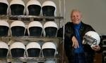 It's about time! Racing innovator Bill Simpson tackles football  concussions with new helmet