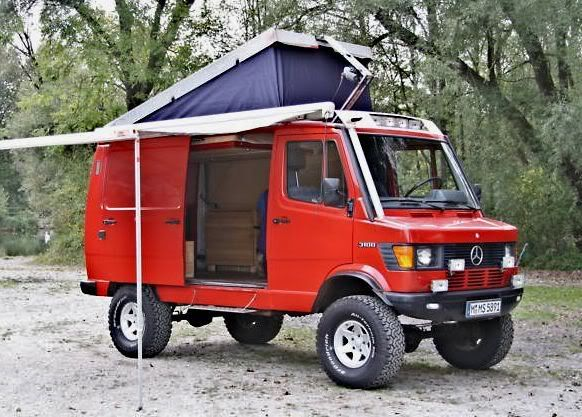 4x4 Mercedes Vario with pop up. Lacey wants this to replace the Landcruiser as our home, I wouldn't mind