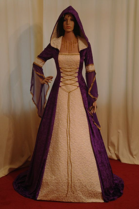 medieval handfasting renaissance Wedding dress by camelotcostumes, $266.00