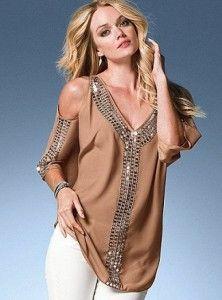 abiye payetli bluz