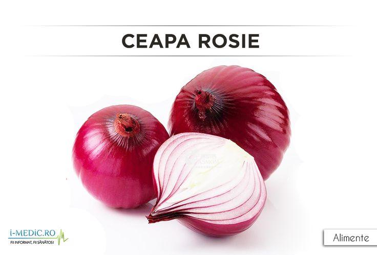Spre deosebire de ceapa alba, cea rosie contine de doua ori mai multi antioxidanti si este mai dulce. http://www.i-medic.ro/diete/alimente/ceapa-rosie