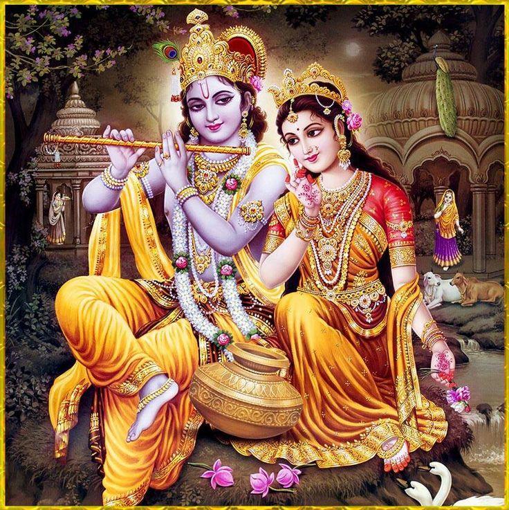 RADHA KRISHNA Artist: Yogendra Rastogi. www.krishna.com