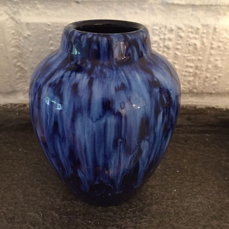 Liten vintage keramikkvase fra Scheurich merket W.Germany 550-10. Mid-Century Ceramics