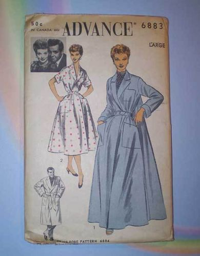 Advance 6883 50s Lucille Ball / Desi Arnaz