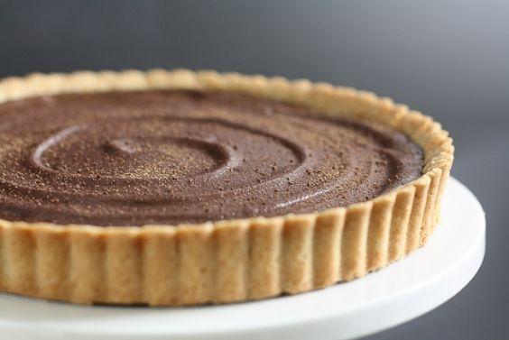 Chocolate Ganache Tart | Cakes, Cookies, Cupcakes, Cake Pops | Pinter ...