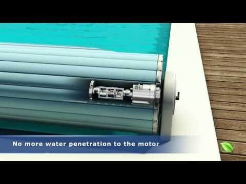 Remco Pool Covers - Swimroll In-Floor Automatic Pool Cover - YouTube