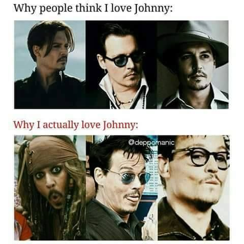 ❤Why i love Johnny❤