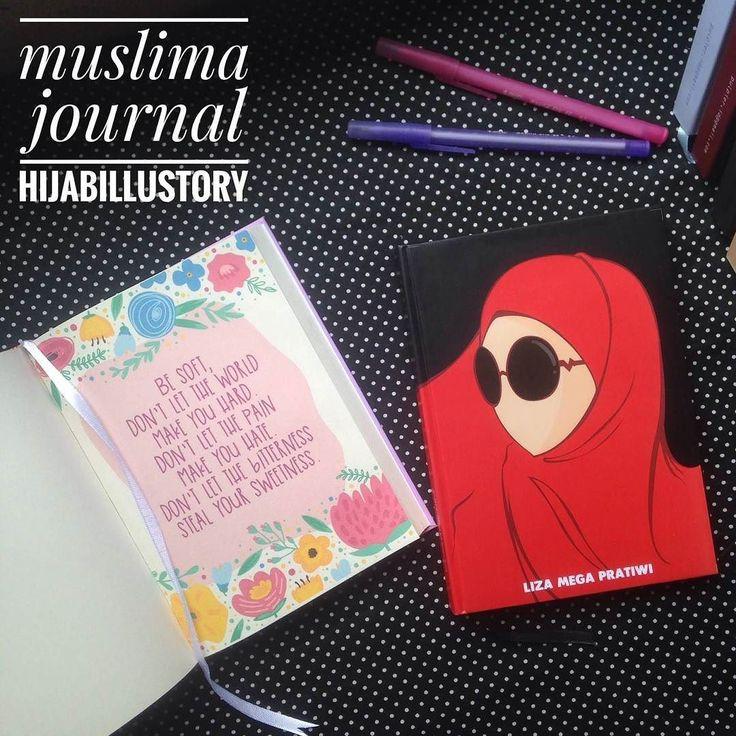 Iman naik turun? Perasaan gelisah? Selain baca Quran cobain WRITING THERAPY ala @hijabillustory yuk. Kamu bisa dapetin journal muslimah yg lucu-lucu plus project yg bakal melegakan hati kamu. Try it now. Be happy blessed and spread kindness together  Bismillah! . . order jurnal/diary? LINE : hijabillustory atau WA 085799032903