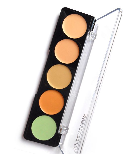 No. 10: Make Up For Ever 5 Camouflage Cream Palatte, $38 , 15 Best Concealers