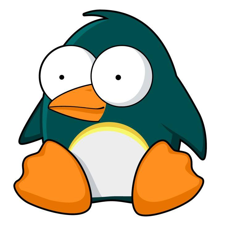 Penguin cartoon | halfblog.