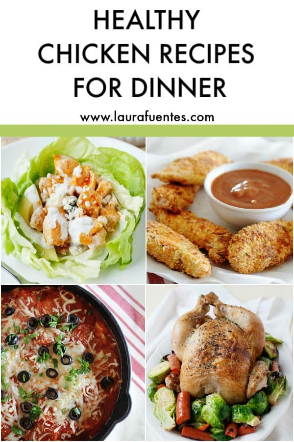 The Ultimate List Of Healthy Chicken Dinner Ideas Recipe Chicken Dinner Recipes Healthy Chicken Recipes Healthy Chicken Dinner