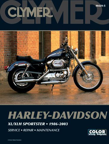 1986-2003 Harley Davidson Sportster Evolution CLYMER MANUAL HD SPORTSTER EVOLUTION 86-03, Manufacturer: CLYMER, Manufacturer Part Number: M4295-AD, Stock Photo – Actual parts may vary.  Clymer repair manuals are written specifically for the do-it-yourselfer � Step-by-step procedures, detailed photography and extensive use of exploded views � �Clymer manuals are designed for the first-time user, complete with full color wiring diagram Additonal Fitment: 1986-2003 Harley Davidson..