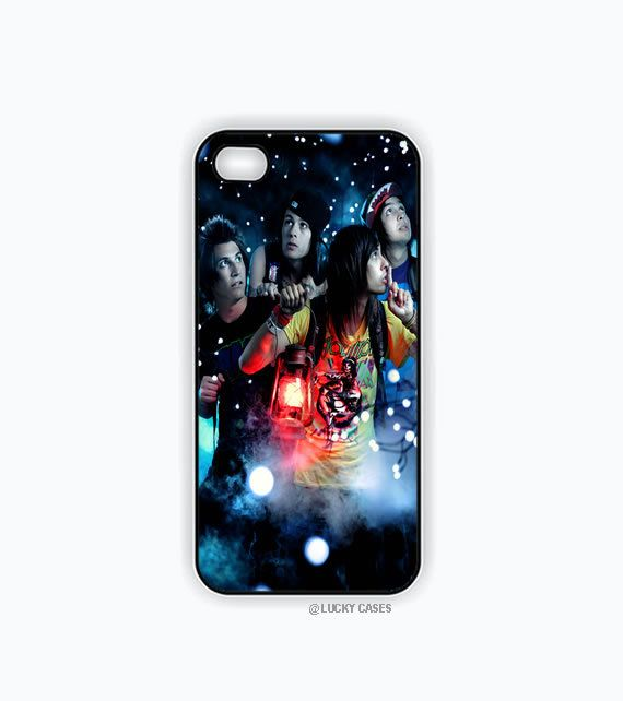 Pierce the Veil Band Iphone 5 case, Iphone 5s case, Hard Plastic Case
