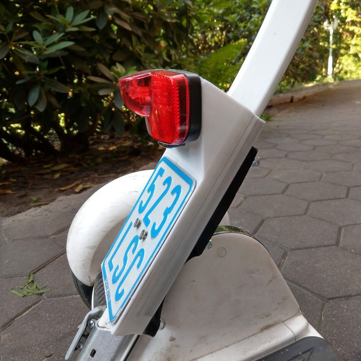 ninebot mini pro license plate holder by joschmid