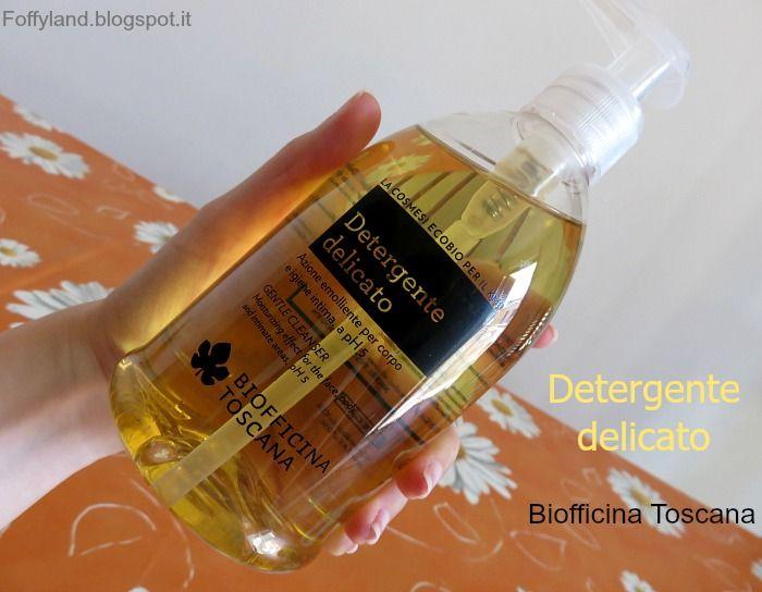 #Detergente #Delicato Biofficina #Toscana review - Cura per luce pulsata, acido glicolico, #dermatite e #candida
