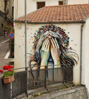 by Alice in Campobasso, Italy | urban art | grafite | mural | graffiti | Street art | art | MINI | Miniac | Mini lifestyle | Schomp Mini