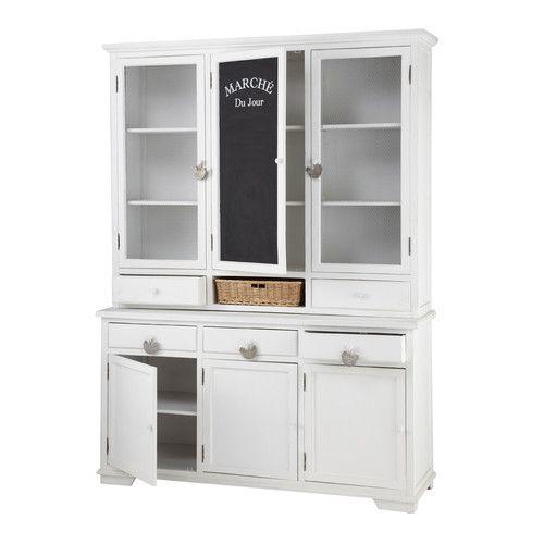 1000 id es sur le th me vaisselier blanc sur pinterest. Black Bedroom Furniture Sets. Home Design Ideas