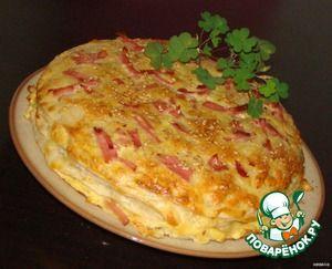 Закусочный торт Сырное суфле