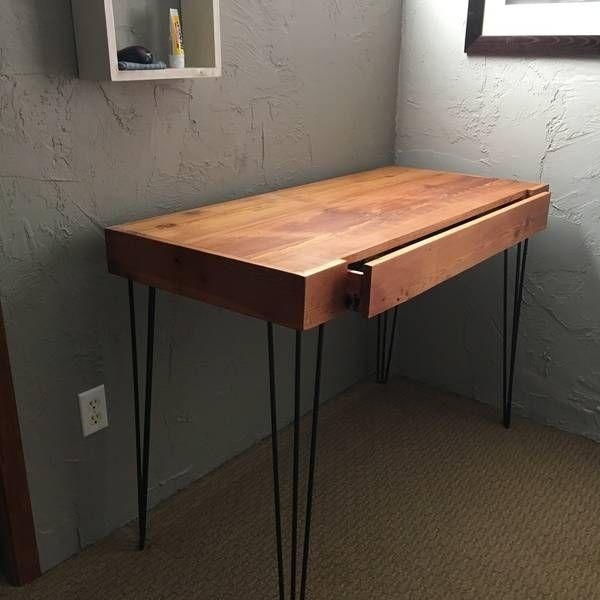 Ryobi Nation Mid Century Desk Mid Century Desk Diy Projects Desk Diy Furniture