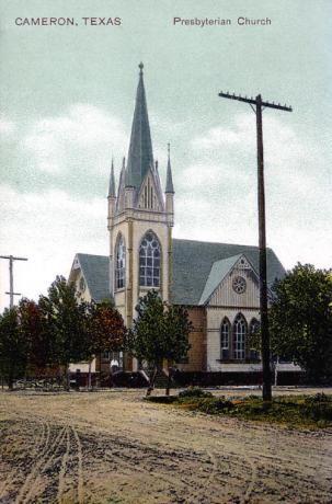Presbyterian Church, Cameron, Texas 1900s