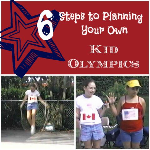Six steps to planning a backyard kids olympics // this would take a lot of work, but could be scaled down a bit. What a great idea!