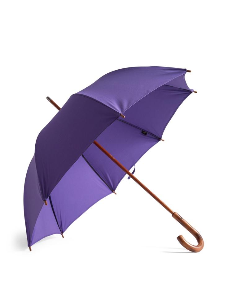 Purple Cotton Umbrella - Umbrella Shop