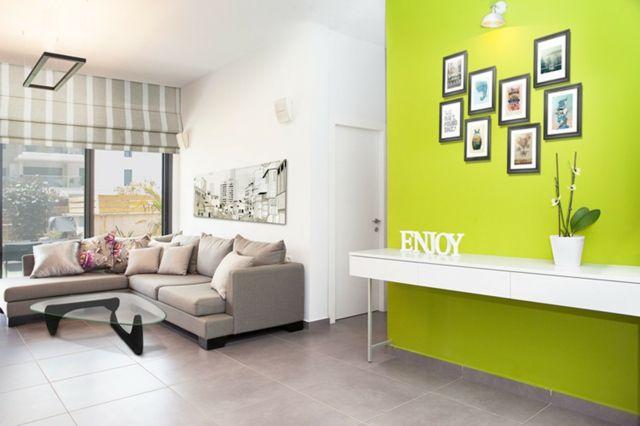 Wohnzimmer Farbgestaltung \u2013 28 Ideen in Grün Wohnzimmer Designs