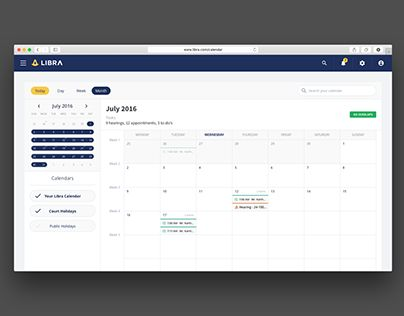 "Check out new work on my @Behance portfolio: ""Daily UI 38 - Calendar"" http://be.net/gallery/46615481/Daily-UI-38-Calendar"