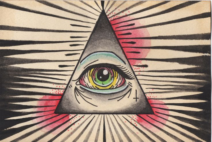 egyptian third eye symbol used by the illuminati