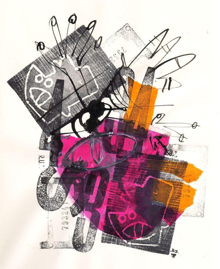 "Rodrigo Gárate Chateau, SERIE ""34 MANCHAS"" (2016). 34 manchas calculadas en posición fija en formato en movimiento."