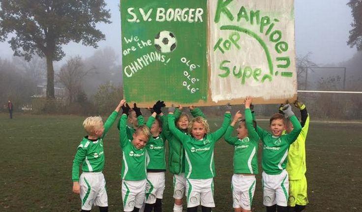 SV Borger JO9-1 is zaterdagmorgen de 1e kampioen van SV Borger geworden. Medekoploper Gieten werd van de mat gespeeld en dat resulteerde in een 1-4 overwinning.  Lees verder op onze website.