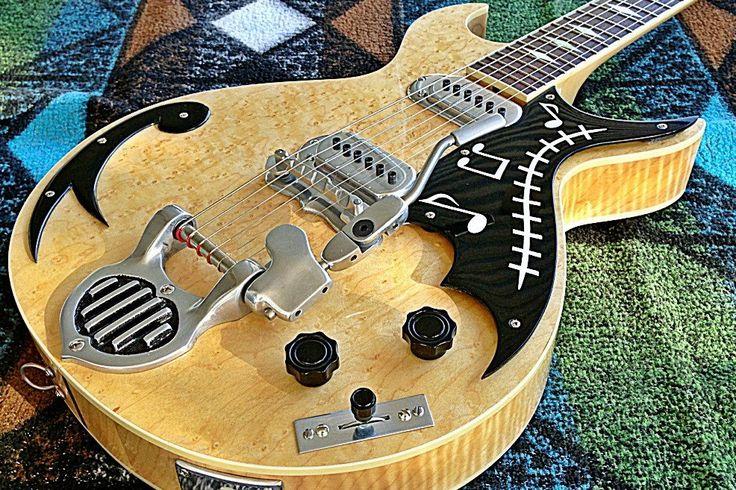 TK Smith® Pancake Guitar