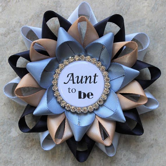 Boy Baby Shower Pins Rustic Baby Shower Decorations Aunt to
