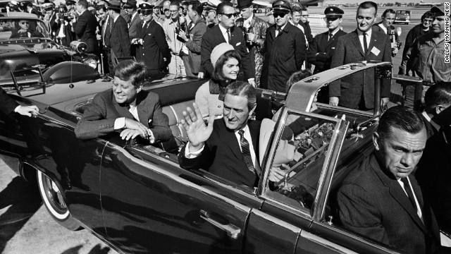 Nov 22, 1963: 53 Years Ago Today John F. Kennedy assassinated at 12:30 Dealey Plaza Dallas Texas. John Fitzgerald Kennedy, the 35th president of the United States, is assassinated while traveling through Dallas, Texas, in an open-top convertible. First lady Jacqueline Kennedy rarely accompanied her husband on political outings, but she was beside him, along with Texas Governor John Connally and his wife, for a 10-mile motorcade through the streets of downtown Dallas on November 22. Sitting…