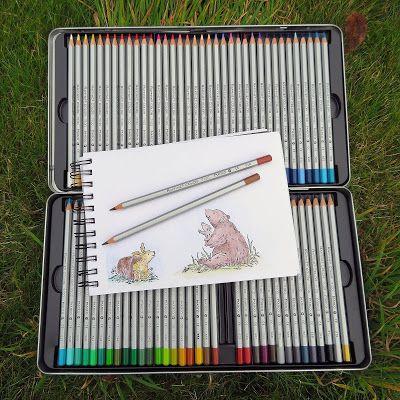 Gadget Girl Reviews: Feelily Marco Raffine 72 Fine Art pencil set in a ...