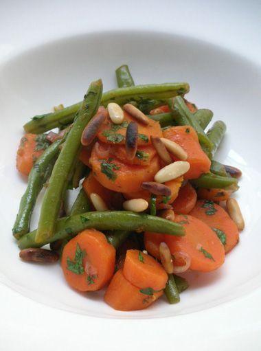 Karotten-Bohnen-Salat