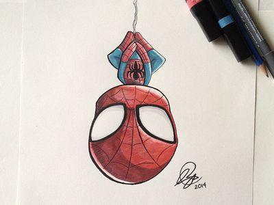 Chibi SpiderMan Marker