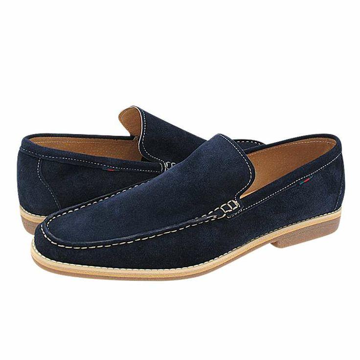 Steeton - Ανδρικά παπούτσια GK Uomo Comfort από καστορι με δερμάτινη φόδρα και συνθετική σόλα.