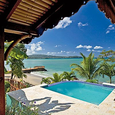 Calabash Cove Resort and Spa...St Lucia.  Those blues: Honeymoon, Bucket List, Favorite Places, Vacation, St Lucia, Travel, Spa