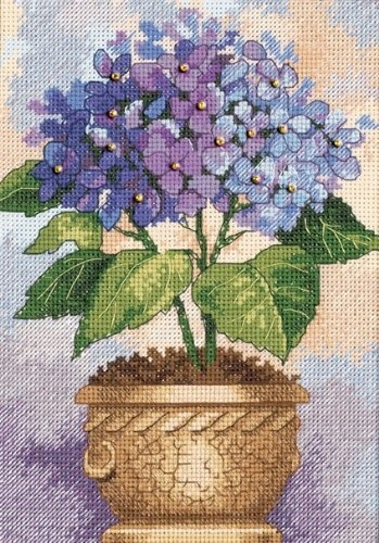Dimensions Needlecrafts Counted Cross Stitch Hydrangea In Bloom: http://www.amazon.com/Dimensions-Needlecrafts-Counted-Stitch-Hydrangea/dp/B000W5CDNK/?tag=greavidesto05-20