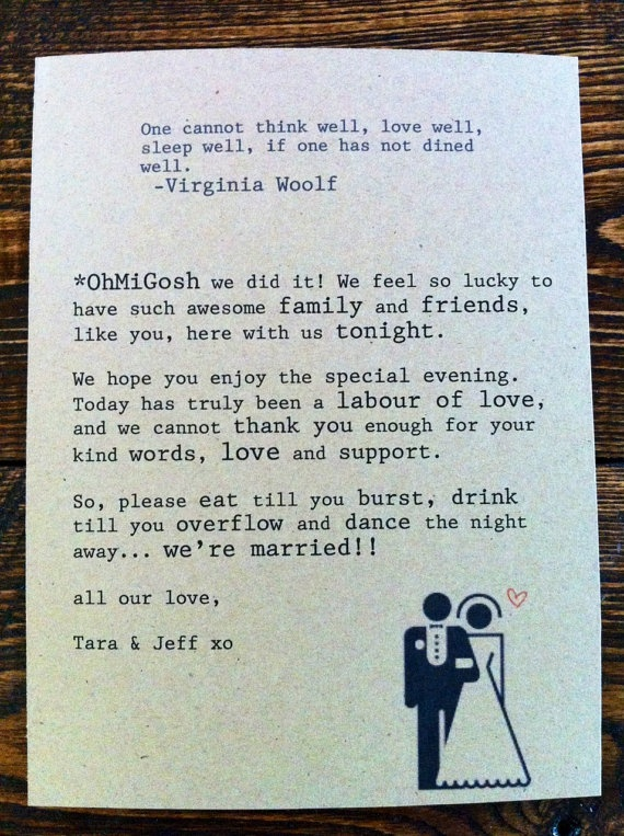 Very 12 Best Wedding Thank You Examples Images On Pinterest PQ87