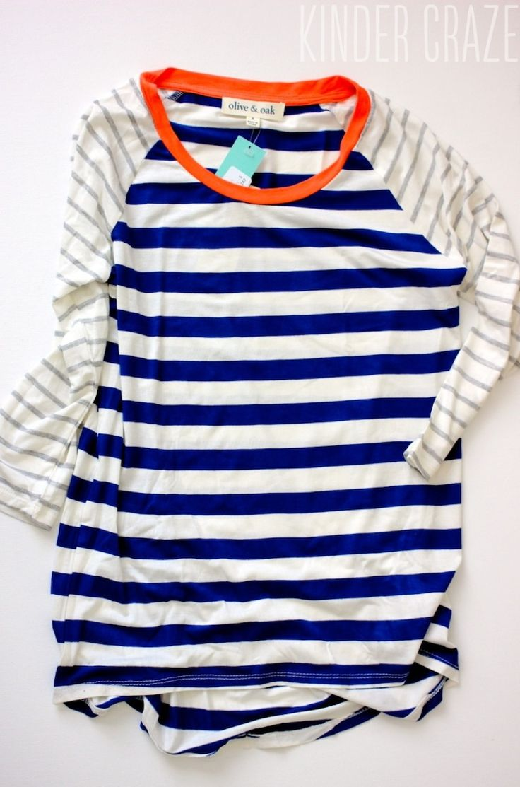 Mulliken Raglan Striped Knit Shirt from Olive & Oak ($48).  Is it possible to have too many striped things??