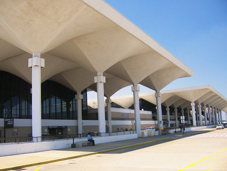 Memphis International Airport...  FYI: DESIGNED AFTER MARTINI GLASSES