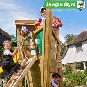 The Jungle Gym Boat Module is now in stock! - Jungle Gym Climbing Frames